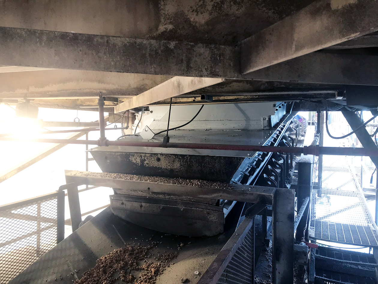 Fibreco North Vancouver Wood Pellet Transfer Conveyor