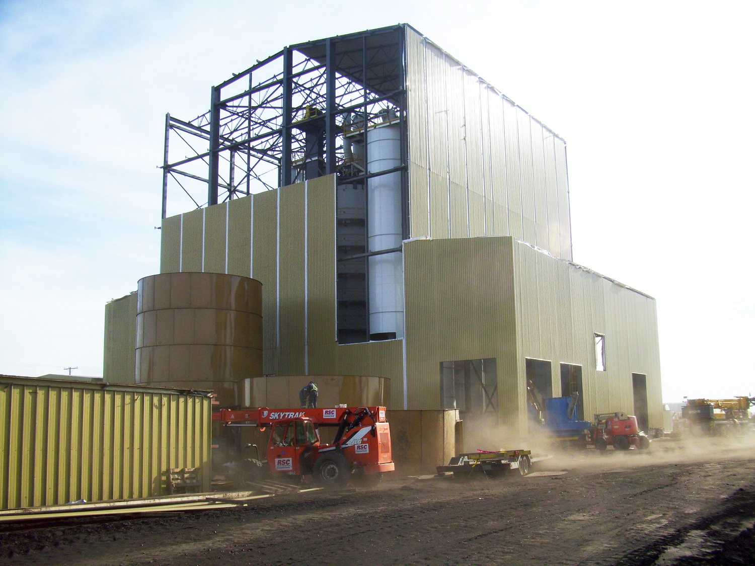 Bienfait_1 activated carbon plant mining facility engineering