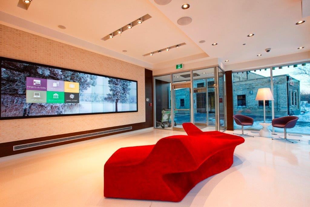 Mere Sunstone Development Engineering hotel interior lobby winnipeg
